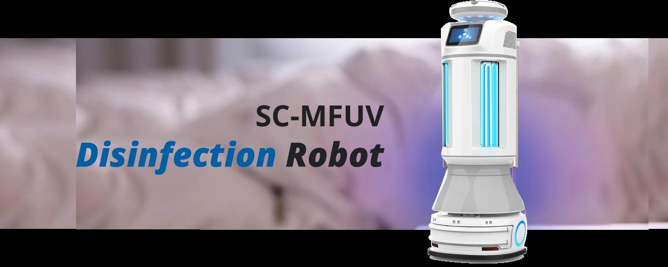 scmfuv disinfectio robot